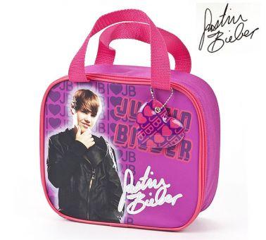 Justin Bieber School Lunch Bag