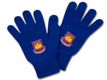 West Ham Utd Crest Wooly Gloves
