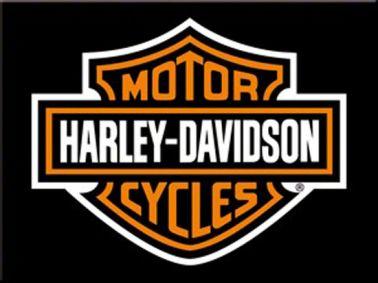 Harley Davidson Crest Fridge Magnet