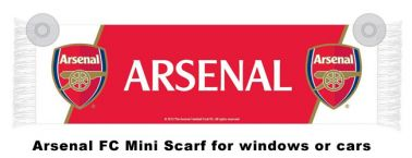 Arsenal FC Crest Mini Car Scarf