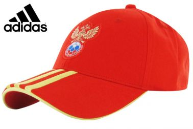 Official Russia Baseball Cap by Adidas