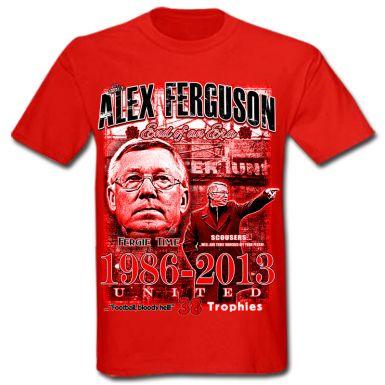 Alex Ferguson Man Utd Legend T-Shirt