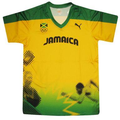 Jamaica Olympic Training Shirt by Puma