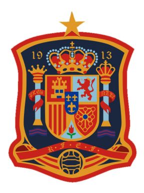 Spain Football Crest Badge