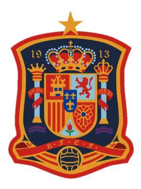 Spain Football Crest Badge