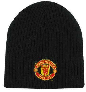 Man Utd Crest Beanie Hat