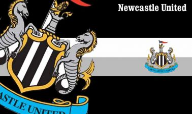 Newcastle Utd Crest Flag