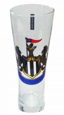 Newcastle Utd Crest Pint Glass