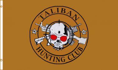Giant Taliban Hunting Club Anti Extremist  Flag