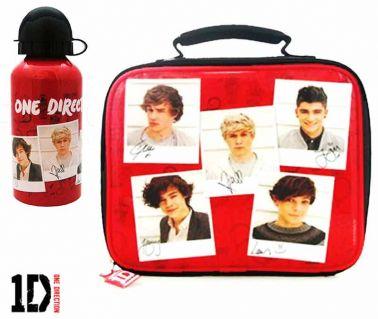 One Direction Boy Band Lunch Bag & Bottle Set