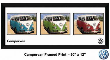Volkswagen VW Campervan Framed Print