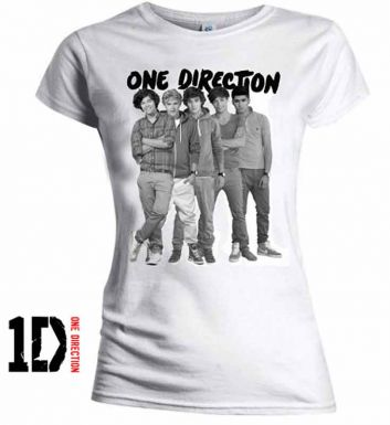 One Direction Boy Band T-Shirt