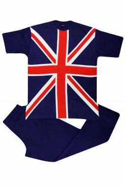 Unisex Union Jack Flag Pyjamas