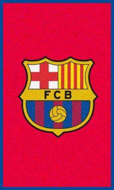FC Barcelona Crest Rug