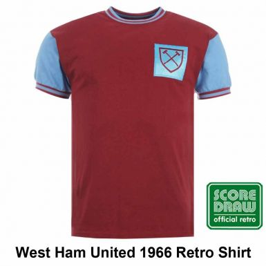 West Ham United 1966 Retro Shirt