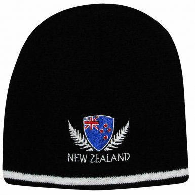 New Zealand All Blacks Rugby Beanie Hat
