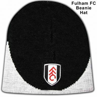 Fulham FC Crest Beanie Hat