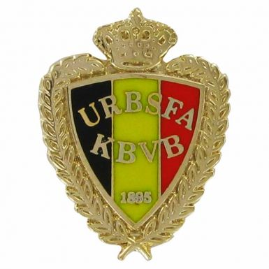 Belgium Football Pin Badge