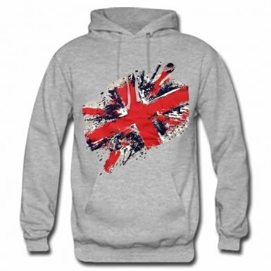 Union Jack Flag Leisure Hoodie