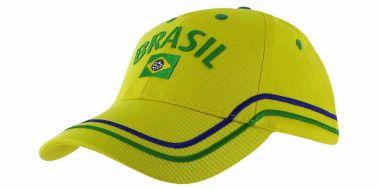 Brazil Flag Baseball Cap