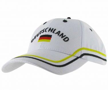 Germany Deutschland Baseball Cap (100% Cotton)