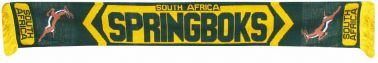 South Africa Springboks Rugby Scarf