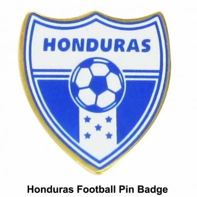 Honduras Soccer Crest Pin Badge