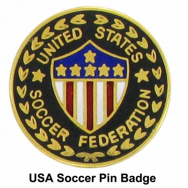 USA Soccer Pin Badge