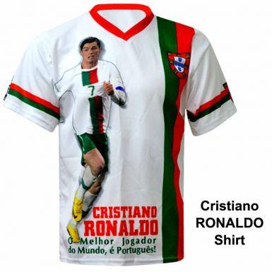 Portugal & Cristiano Ronaldo Shirt