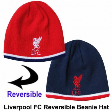 Liverpool FC Reversible Beanie Hat