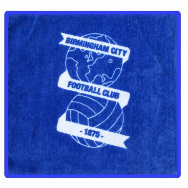 Birmingham City Face Towel