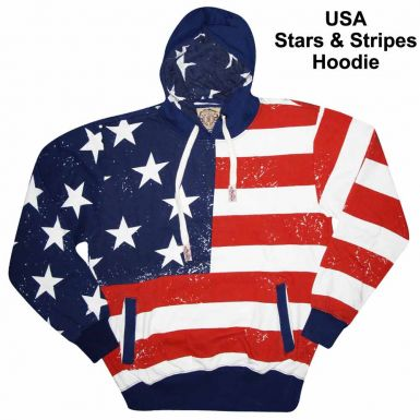 USA Stars & Stripes Hoodie