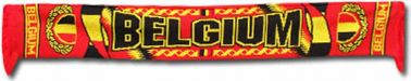 Belgium Flag Football Scarf