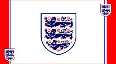 England 3 Lions Flag