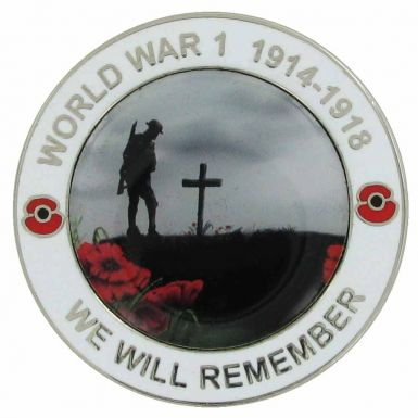 WW1 (1914-2014) Centenary Poppy Medal