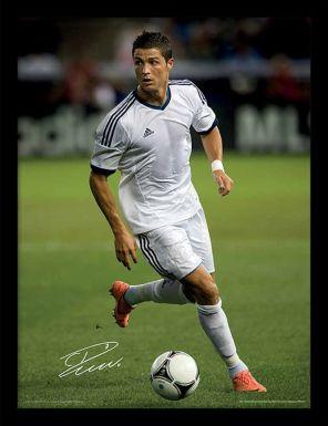 Cristiano Ronaldo & Real Madrid Framed Print