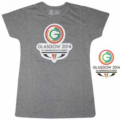 Glasgow 2014 Commonwealth Games Ladies Fitted T-Shirt