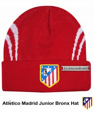 Atletico Madrid Crest Junior Bronx Hat