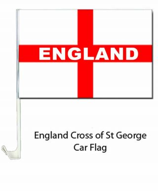 England Cross of St George Car Flag