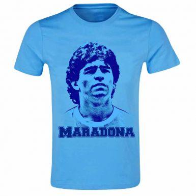 Diego Maradona Football Legend T-Shirt (100% Cotton)