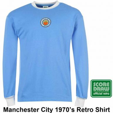 Man City 1970's Retro Shirt