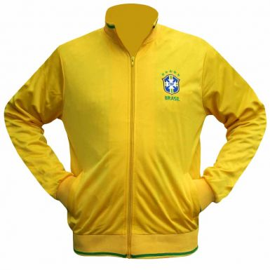 Brazil Football Tracktop for Leisurewear or Training