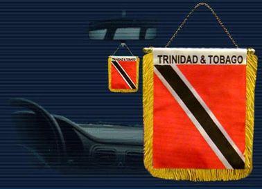 Trinidad & Tobago Mini Pennant for Car