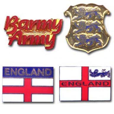 England Barmy Army Badges