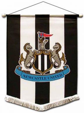 Newcastle Utd Mini Pennant for Cars