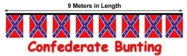 Confederate Flag Bunting