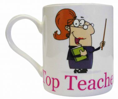 Top Teacher 'Miss' Gift Mug Thank You Present for End of Term