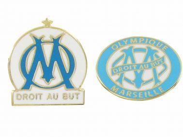 Olympique Marseille Pin Badge Set