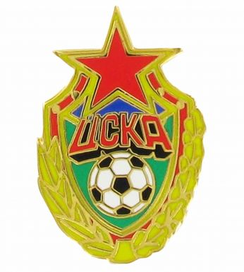 CSKA Moscow Crest Pin Badge