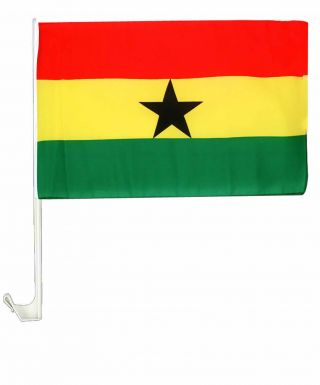 Ghana Black Stars Car Flag